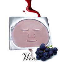 Cosmentic whitening nutritional supplements red wine collagen facial mask