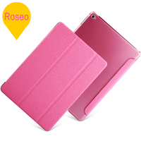 Hot New Products for 2014 Tri-Folding Ultra Slim Flip Cover for iPad Air 2, for iPad Air 2 Stand leather Case