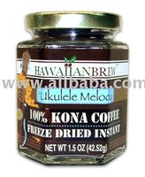 100% Kona Coffee Freeze Dried Instant