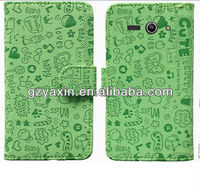 Flip case for lenovo,Standable leather case for Lenovo S820