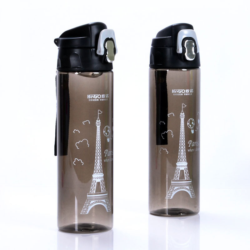 manufacrure platic travel water bottle