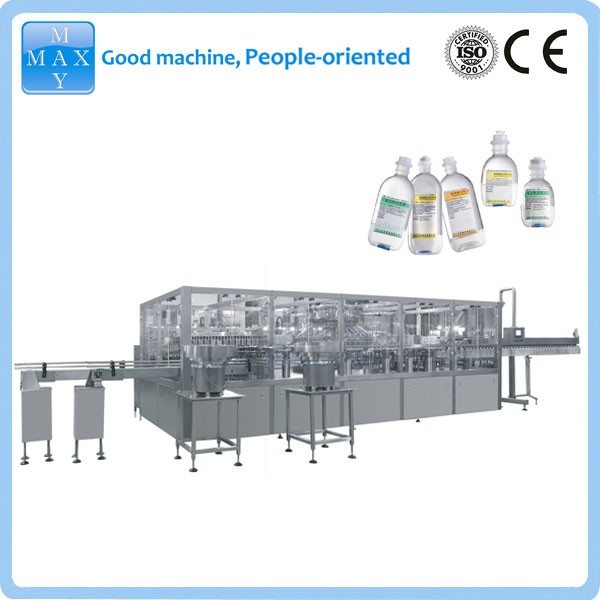 250ml normal saline plastic bottle I.V. production line