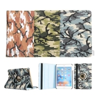 Camouflage Flip 360 Rotating Leather Case for iPad Air 2 for iPad 6