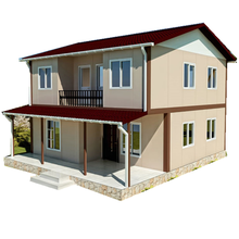 Prefabricated economic house used as prefab home or modular room