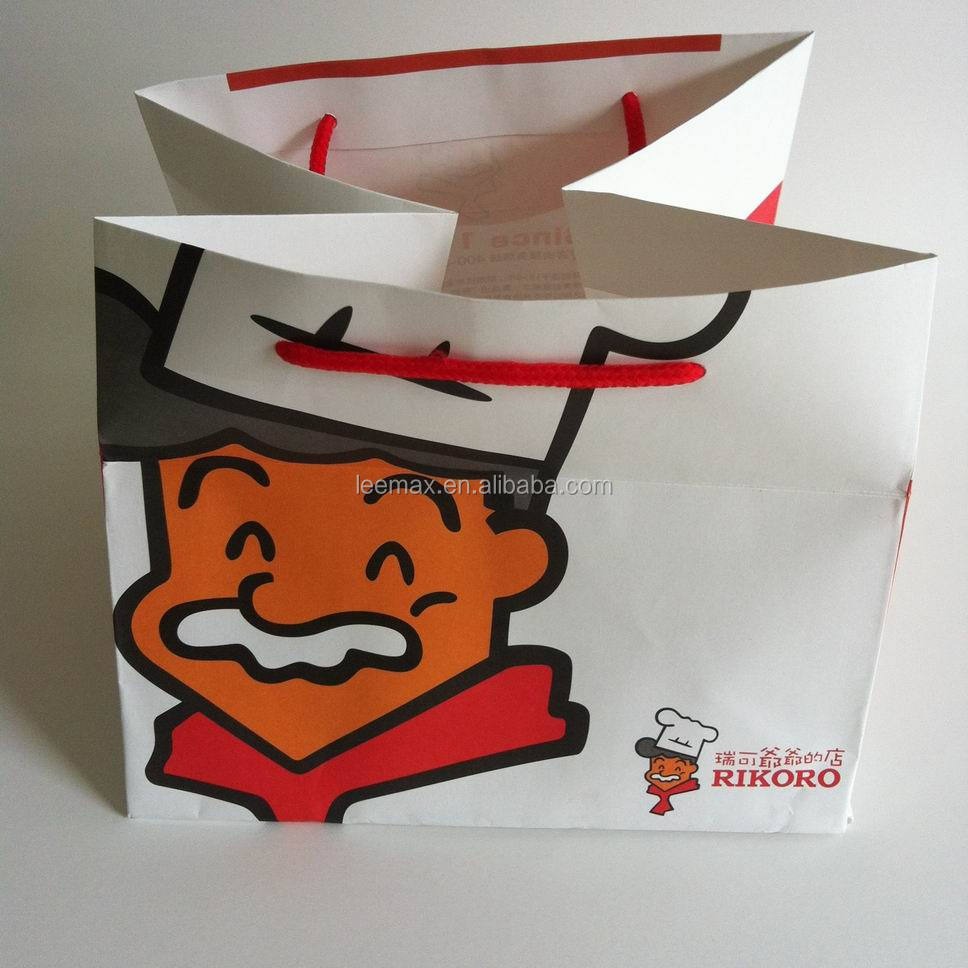 LM-4060 fantasy bread take away fast food paper bag