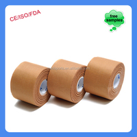 China Supplier Adhesive Elastic Bandage Zinc Oxide Sports Tape