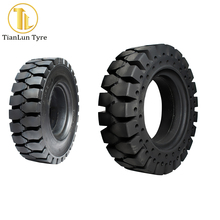 Cheap Chinese tires linde forklift solid wheel and tire for sale