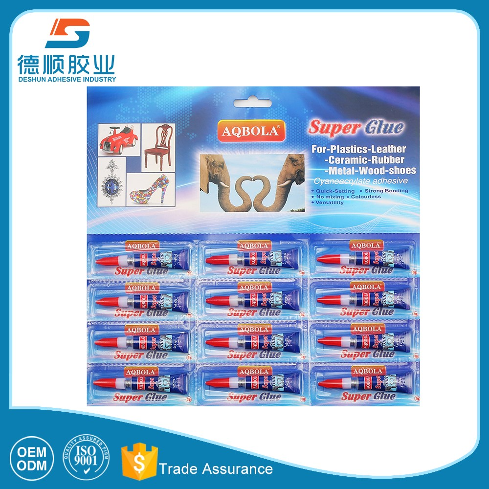 multi-purpose strong 502 super glue for household ,industry