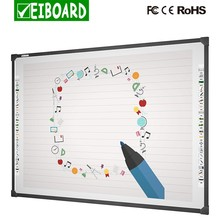 China supplies interactive touch screen whiteboard with mobile stand