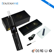 2016 New Vaporizer Titan T3 Glass Chamber Dry Herb Vaporizer Wholesale