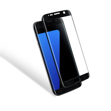 In Stock Full Cover Delicate Touch Tempered Glass Screen Protector For Samsung S7 Edge