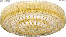 Cheapest good quality square crystal bead string ceiling lamp