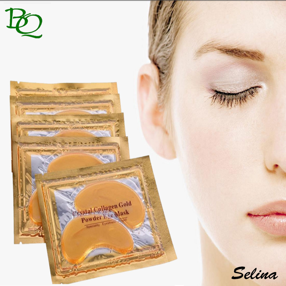 Wholesale custom printed Gold Collagen Crystaleye Gel <strong>eye</strong> mask Patch pads for Anti-Wrinkle