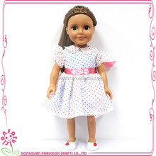 Wholesale plastic kewpie dolls elegant lady doll with curly hair