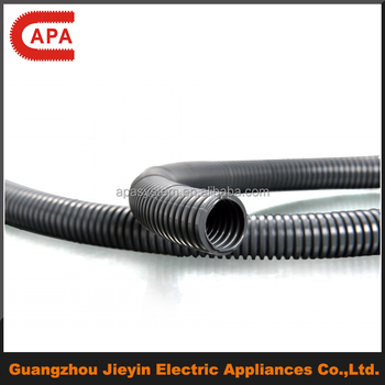 plastic sleeve for electrical wires /flexible hose/PA flexible corrugated pipe