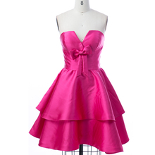 Simple Design Short Cocktail Dresses For Girls Of 18 Years Old Women Party Dresses