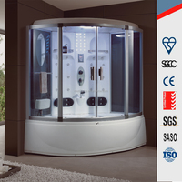 Outdoor and indoor home use 2 person portable steam sauna combined room/ furniture shower room for hot selling