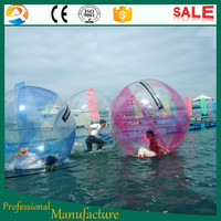 Floating Inflatable Water Roller Ball Walking Ball Water Park Kiddie Equipment for Sale