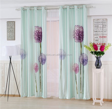 3d high quality cafe blackout curtain