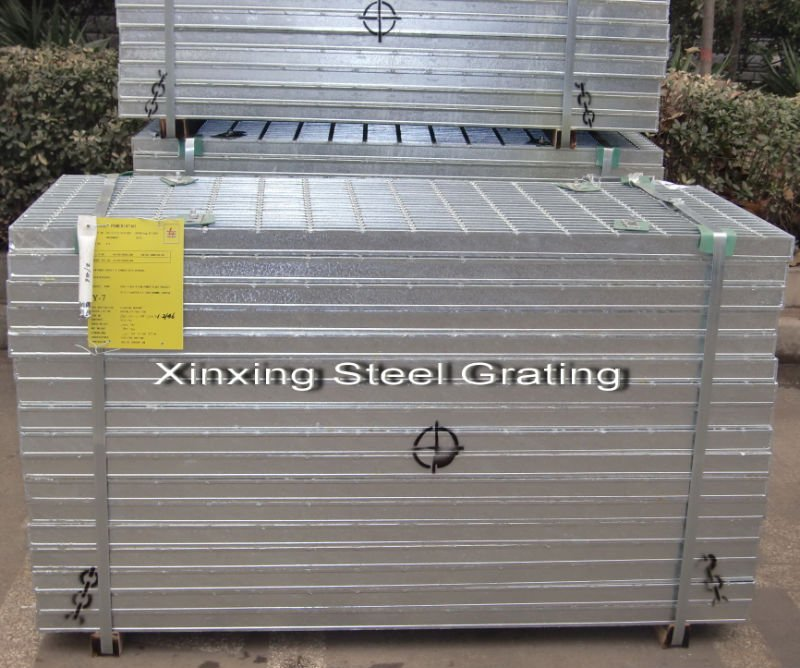 Galvanized Steel Grating_Packed