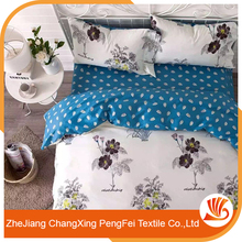 Elegant style full of modern flavor microfiber disperse bedding set