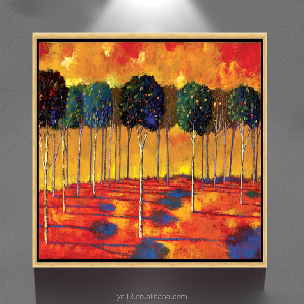 Wholesale Handmade scenery painting for home decoration oil paintings <strong>art</strong> gz-304