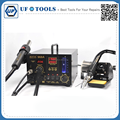 Aoyue 968A+ Hot Air Soldering Station 3 in 1 Hot Air Gun Welding Station Smoking