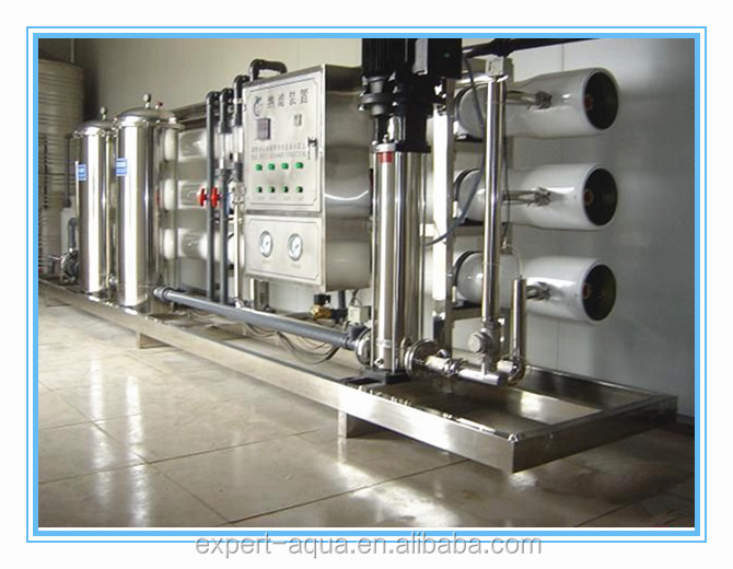 water equipment making machine with stainless steel pressure vessel