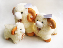 Plush soft cute sheep custom made plush toy