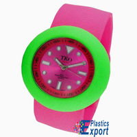 2012 HOT! waterproof birds shape silicone snap watch for kids
