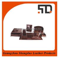 2016 New Style Executive Leather Office Table Accessories