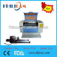 China hot mini vertical laser cnc milling machine 6040 for sale