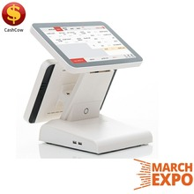OEM/ODM supply touch screen restaurant pos system dual for shop
