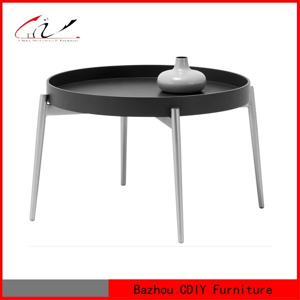Colored Round Fancy Coffee Table With Metal Base Buy Coffee Tabel With Metal Base Round Coffee