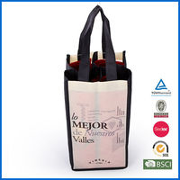 hot sale high quality promotional wine gift bag