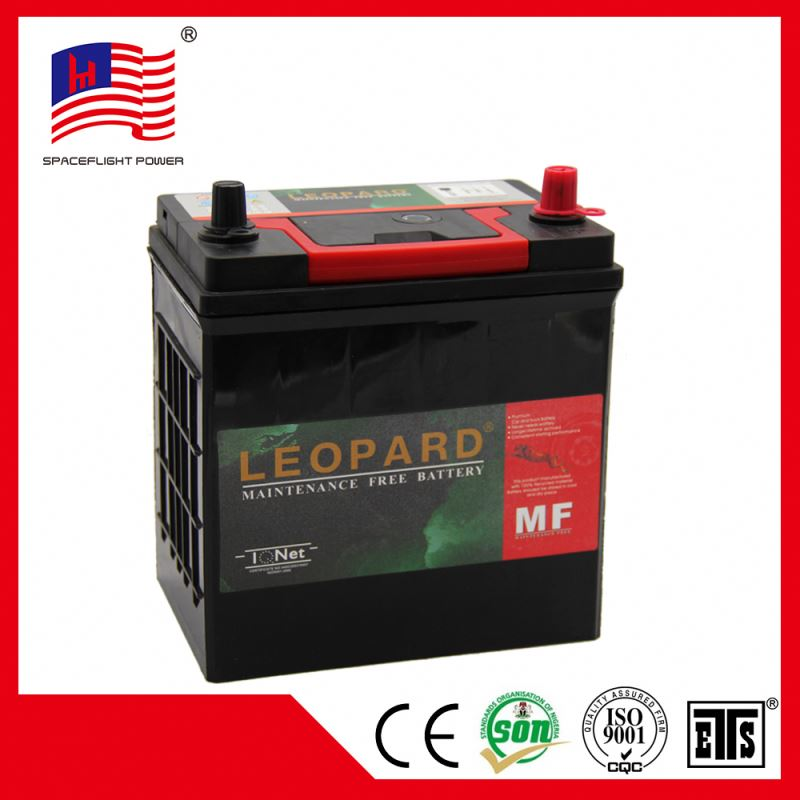 N38MF 12V38AH korea design jis Sealed safe weight of a car battery