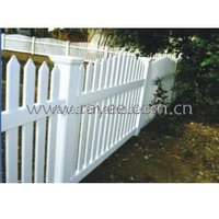 1.2MX2.4M Vinyl PVC Picket Fence /Plastic Outdoor Portable Fence/pvc recinzione, blanco cerca de vinilo