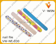 high quality disposable nail file/emery board