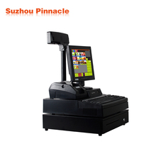 12 inch Touch Screen Retail POS Equipment with auto cutter Thermal Printer