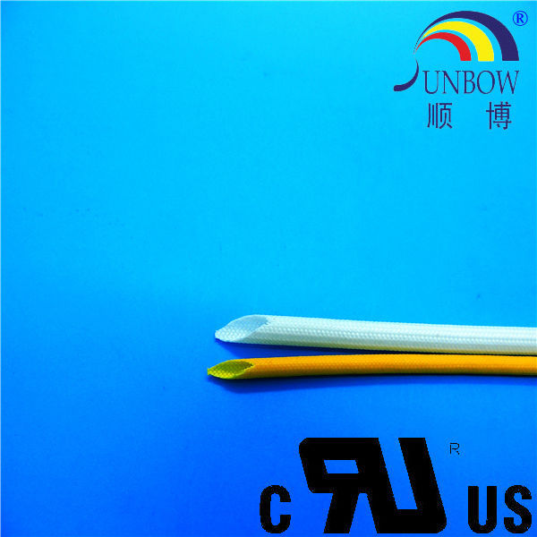 mica insulating material fiber glass sleeving coated silicone resin