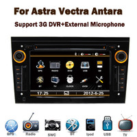 In Stock Black Piano 3G Touch Screen opel astra h DVD GPS with Bluetooth Radio RDS USB IPOD Steering wheel control Canbus