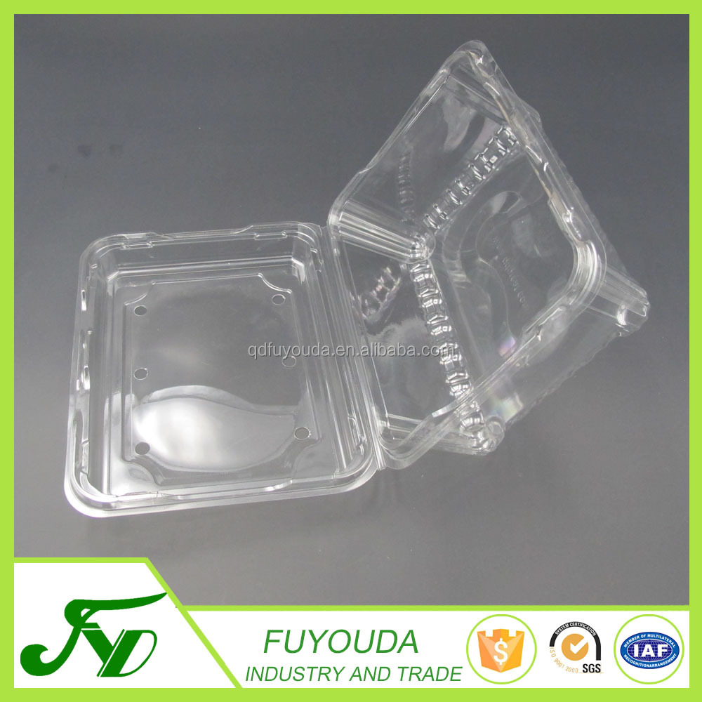 Retail PET clear tomato blister packing tray