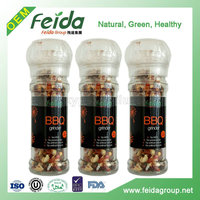 Nature spices and herbs BBQ grinder