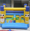 HOLA inflatable naughty castle/smile inflatable bouncers for kids