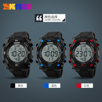 2016 wholesale import watches men military digital stop watch