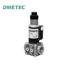 "DN25 (1"") slow opening gas solenoid valve for natural gas lpg gas pipeline - combination assembly"