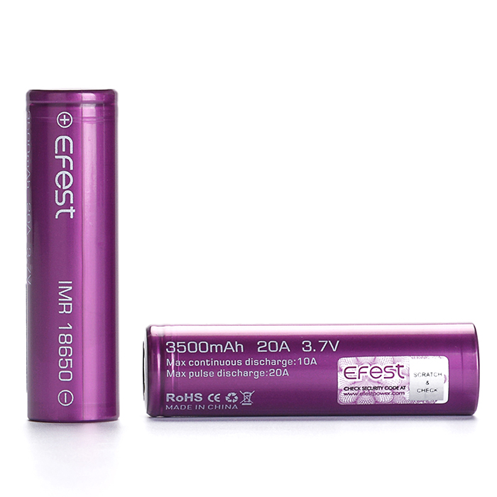 South Korea imported INR18650-36G 18650 3600mAH 10A 3600mAH 3.6V lithium rechargeable cycle 18650 battery