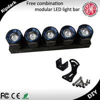 Strong Modular Security Light Bar Impact Resistant LED Light Bars For Security Cars