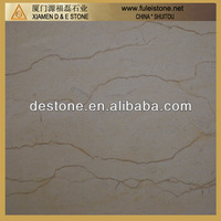 Sunny yellow low price marble tile