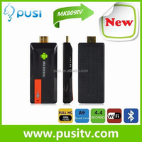 Quad Cord RK3188 Google TV Box MK809IV Android 4.2.2 Mini PC 2GB+8GB Smart Android TV Box TV Player Super Wifi From PUSI